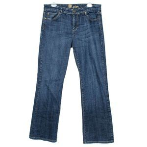 Kut From The Kloth Womens Jeans Bootcut Blue 10 E2